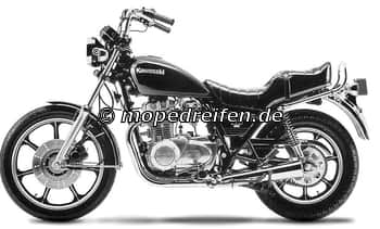 Z 440 LTD / Z 440 LTD BELT DRIVE-KZ440A-A,A-D
