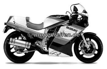 GSX-R 1100 1986-1987-GU74C