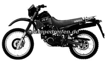 XT 350 AB 1991-3YT