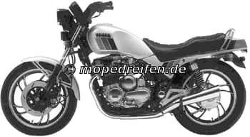 XJ 750 SECA AB 1982-11Y / 11M