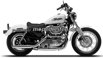 XL 883 C SPORTSTER CUSTOM 1996-1999-XL2 (XL53C)