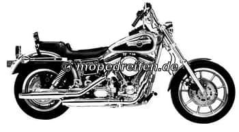 FXDC DYNA GLIDE CUSTOM 1992-1993-FXD