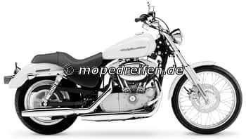 XL 883 C SPORTSTER CUSTOM 2004-2007-XL1/2 (XL53C)