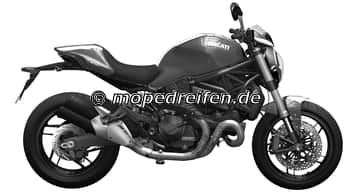MONSTER 821 STRIPE-MC/MG / e*168/2013*