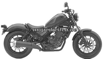 CMX 500 REBELL-PC56 / e13*168*2013****