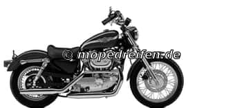 XLH 883 SPORTSTER HUGGER 1987-1990-XL2