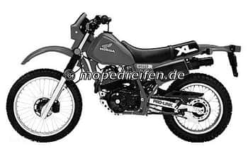 XL 250 R-MD11 / ABE D447 - E460