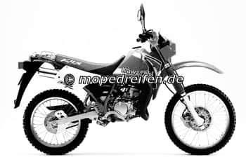 KMX 125 AB 1995-MX125B / ABE