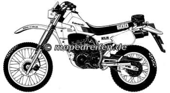 KLR 600-KL600 A/A / ABE D317