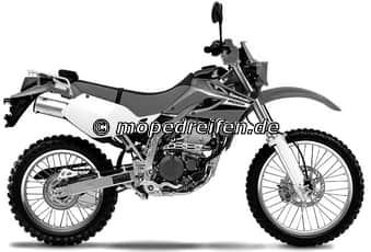 KLX 250 AB 1993-LX250 B /E
